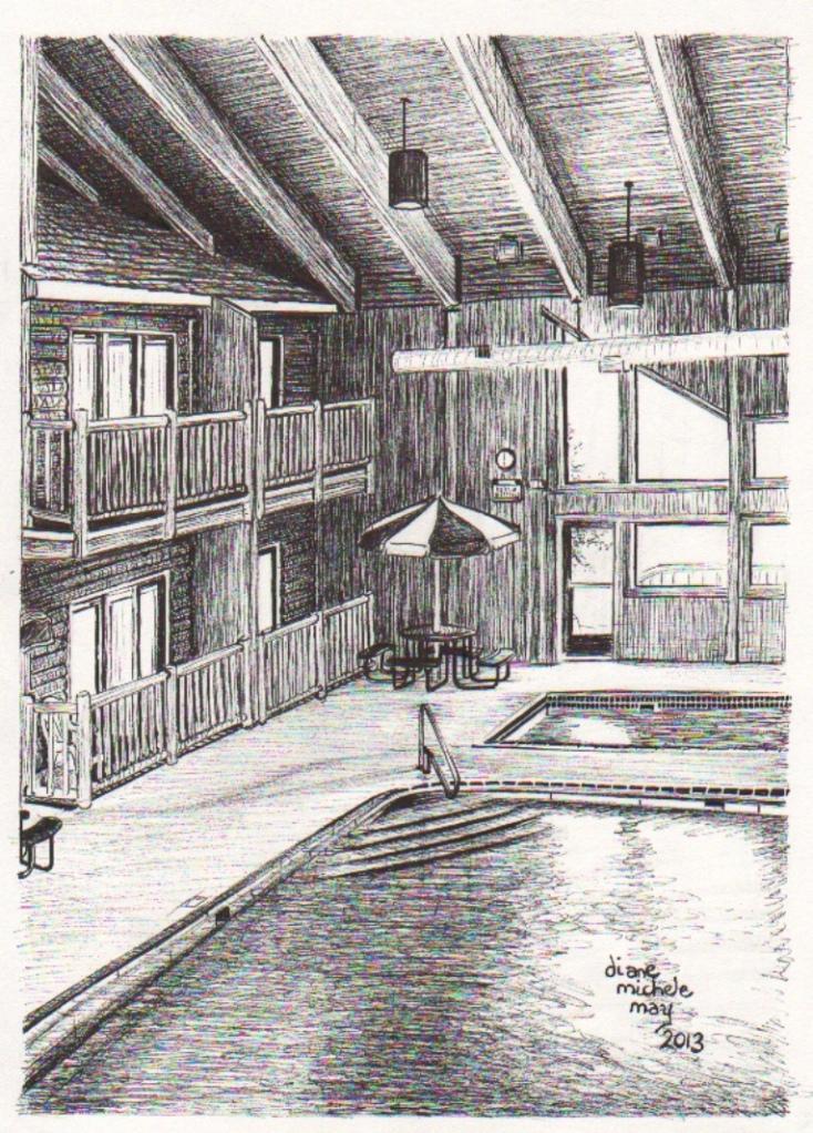 High Village Sketch, color, 100bit