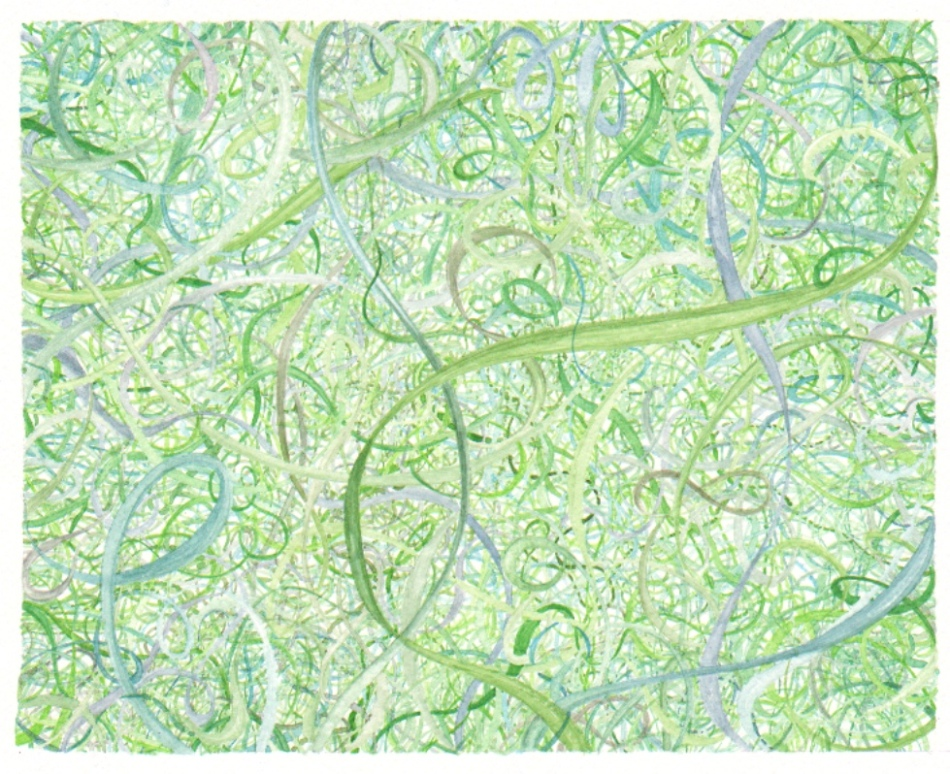 Squiggly squirrelly- Green, 24bit, 100res