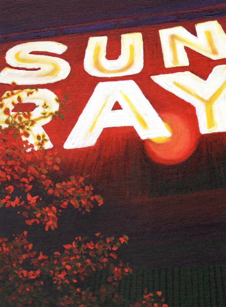 Sun Ray Acrylic Painting, 24bit, 100RES